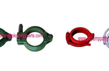 concrete pump parts clamps