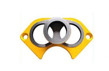 Schwing concrete pump spare parts wear plate
