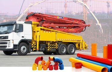 Zoomlion Sany Putzmeister Concrete Pump Conveying Boom Pipe, St52 Dn125 Putzmeister Pump Boom Line